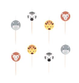 My Little Day Kaarsjes safari dieren | 8st