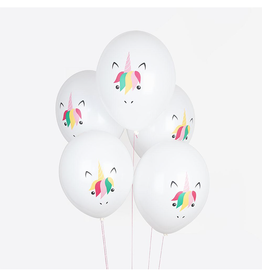 My Little Day Ballonnen unicorn print | 5st