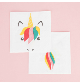 My Little Day Servetten unicorn print | 20st