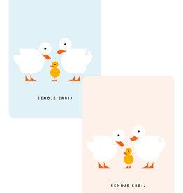 Eendje Set geboortekaarten | 6st