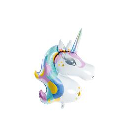 PartyDeco Unicorn folieballon | 73 cm x 90 cm