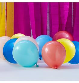Ginger Ray Ballonnenmix gekleurd (12 cm) | 40st