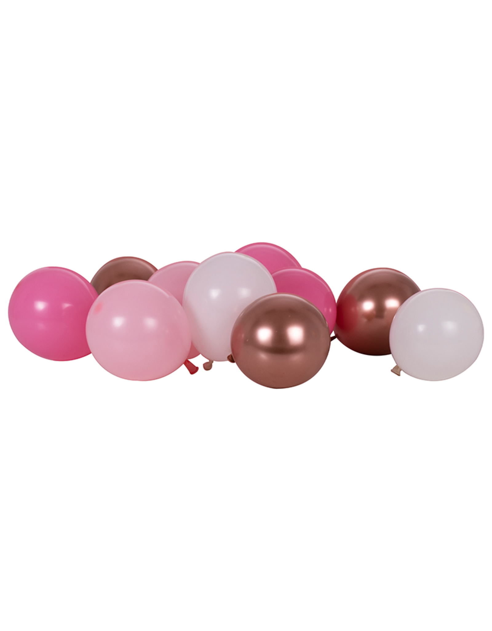 Ginger Ray Ballonnenmix rosé goud & roze | 40 stuks
