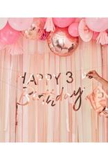 Ginger Ray Rosé gouden slinger Happy Birthday | customise