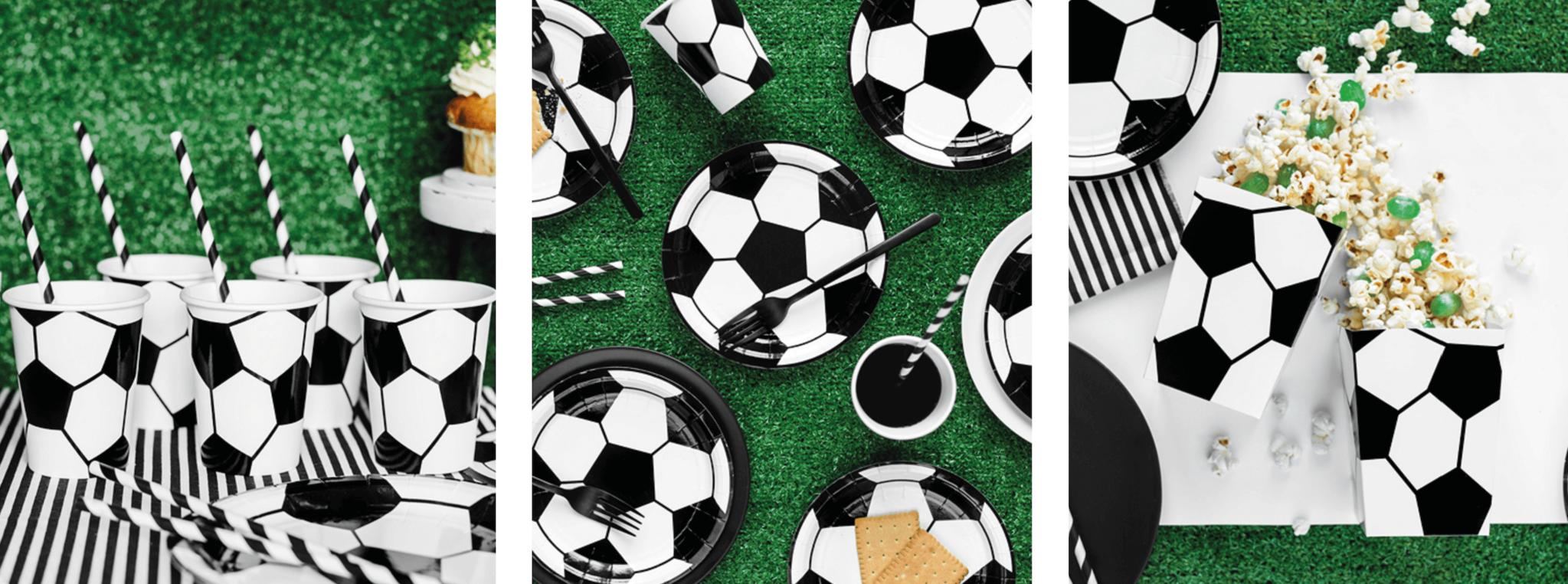 Voetbal versiering thuis EK
