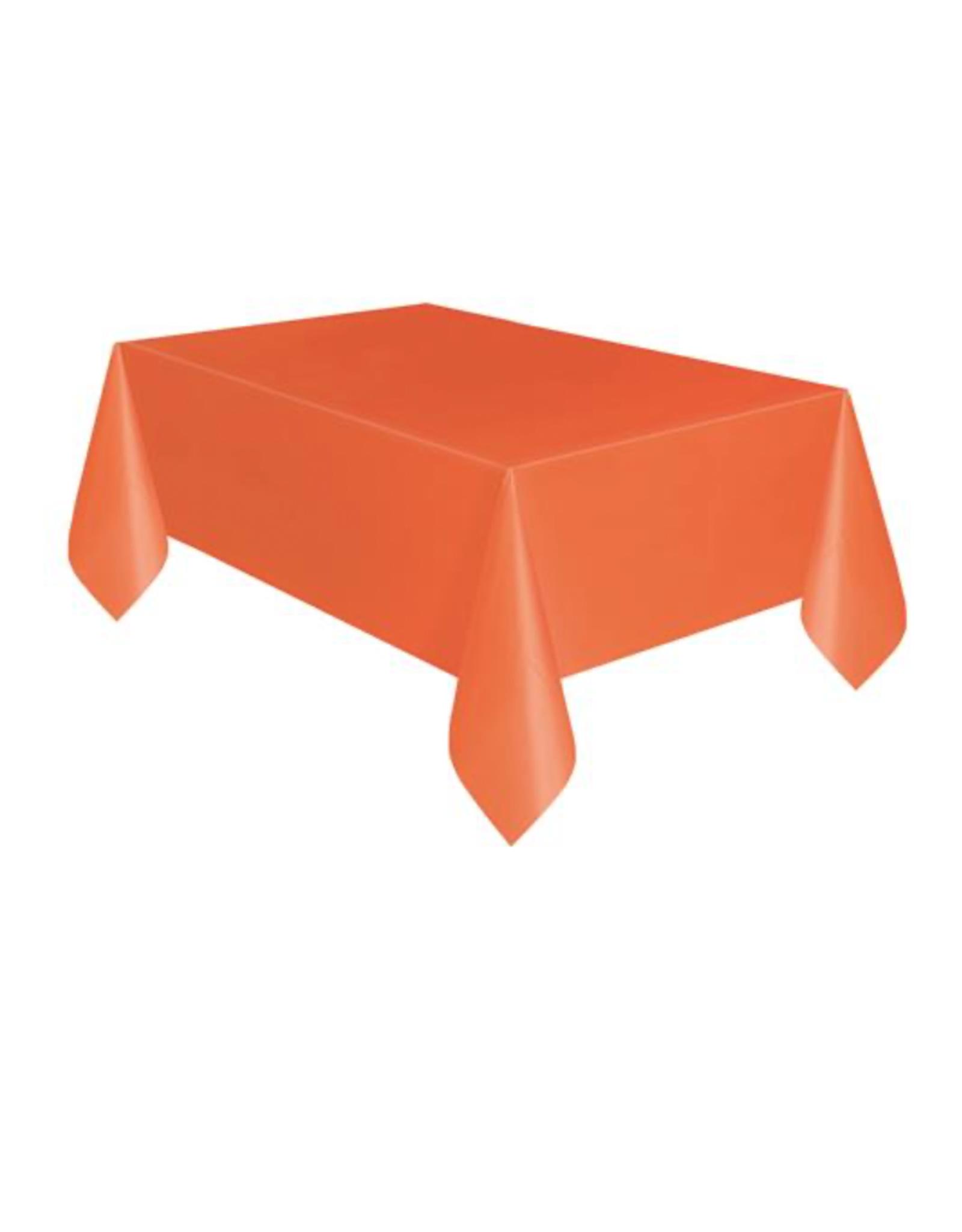 HAZA Plastic tafelkleed oranje | 140 x 274 cm