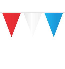 HAZA Vlaggenlijn rood, wit & blauw | 10 meter