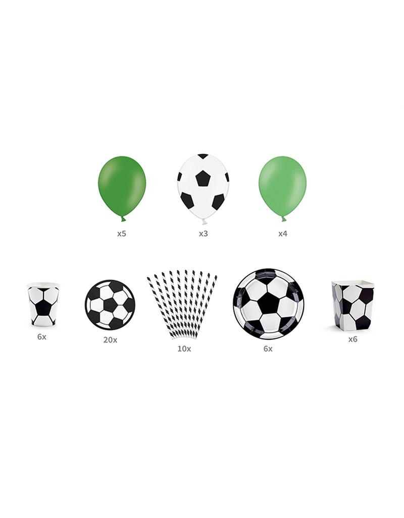Voetbal versiering pakket