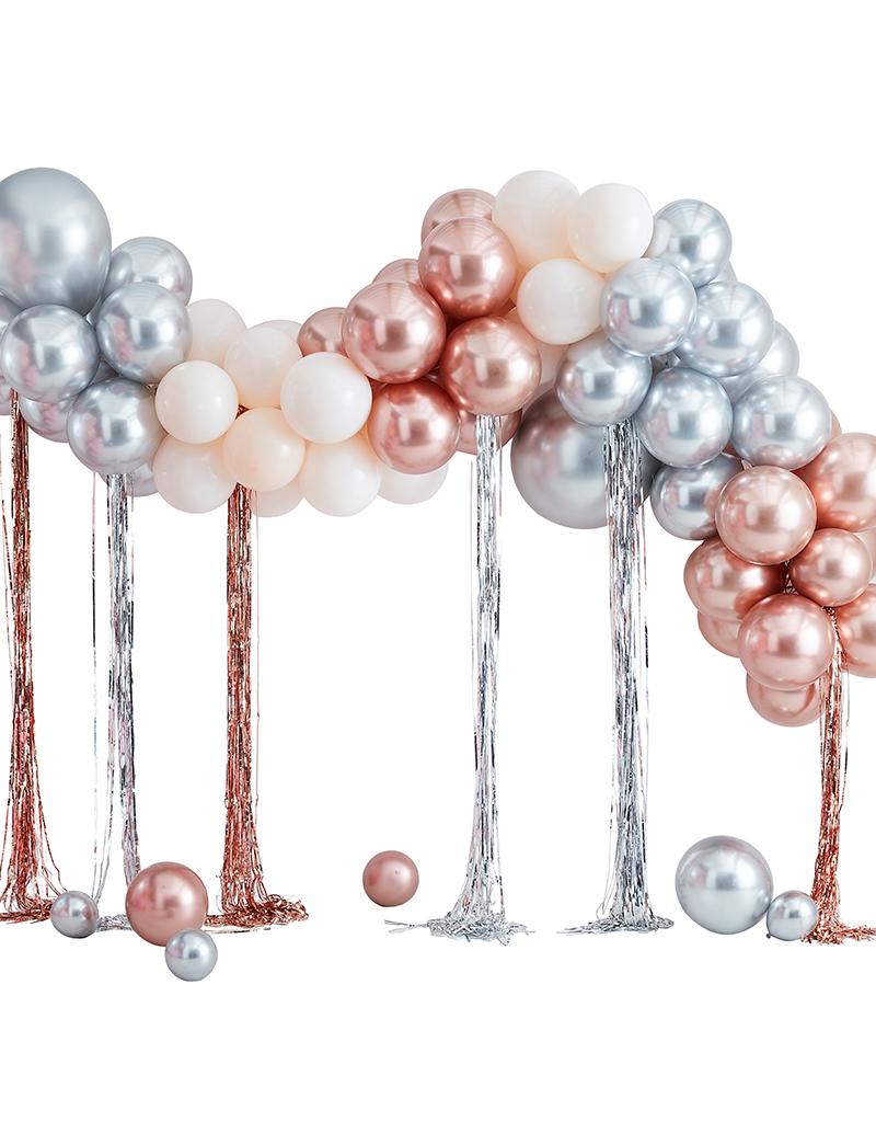 Ballonnenboog metallic
