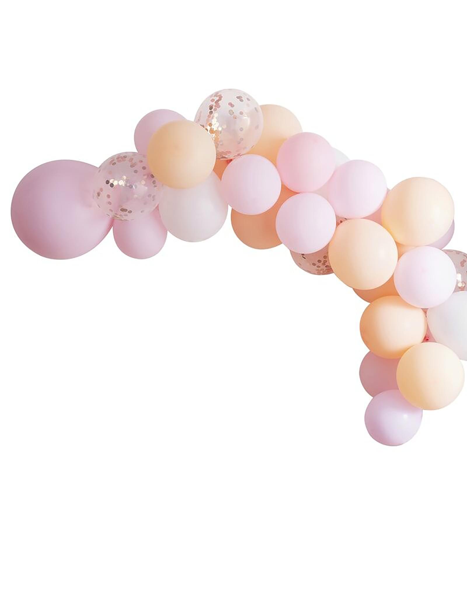 Ballonnenboog pastel