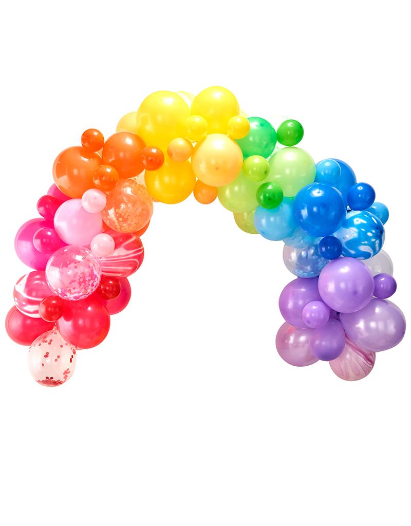 Regenboog ballonnenboog