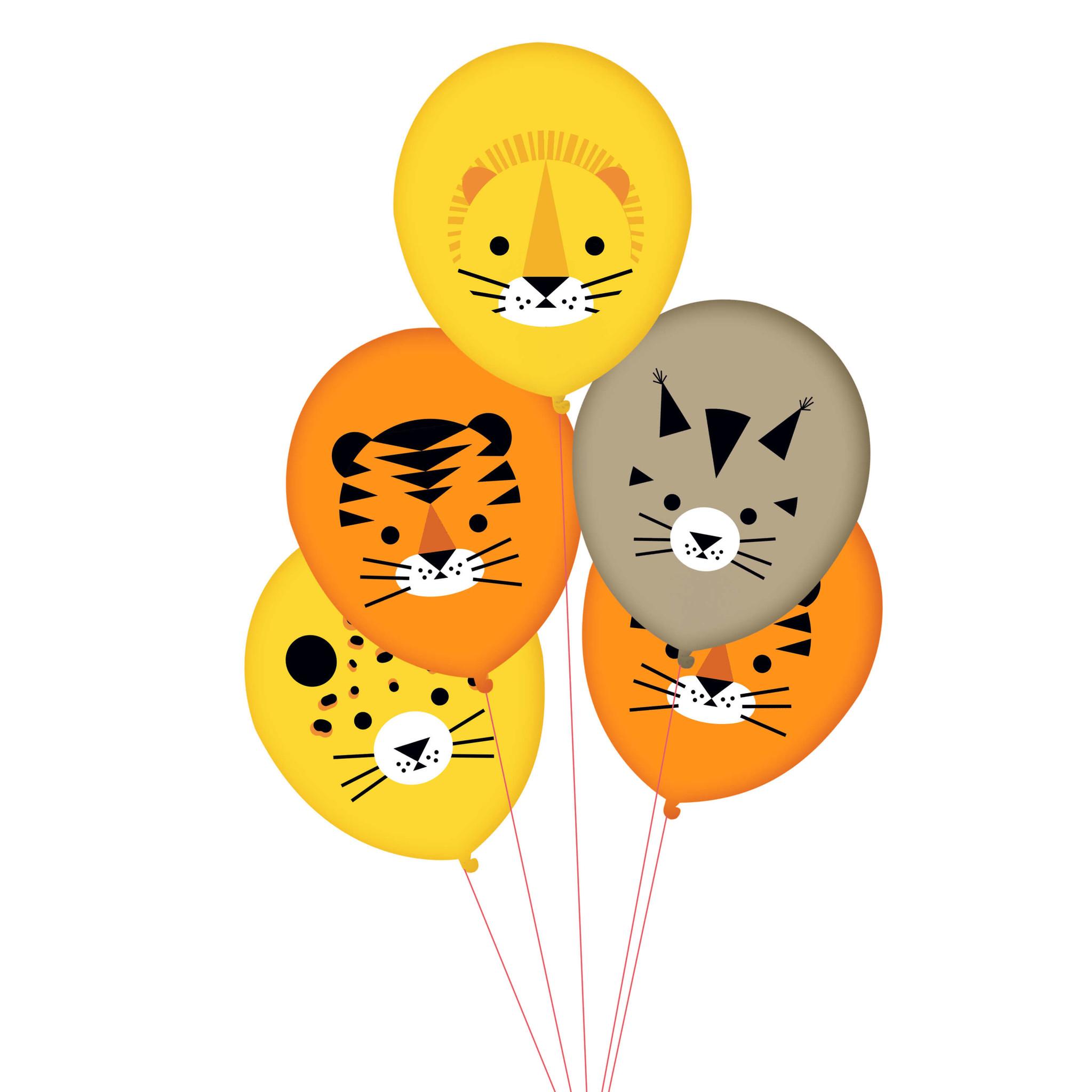 Ballonnen jungle dieren