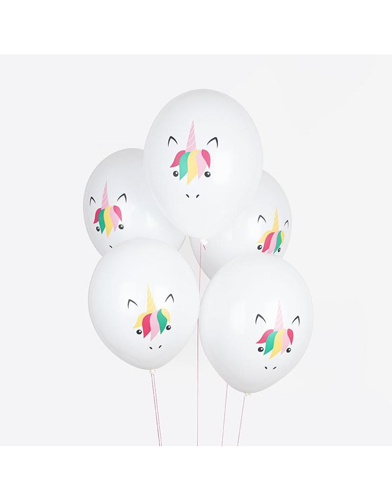 Unicorn ballon versiering
