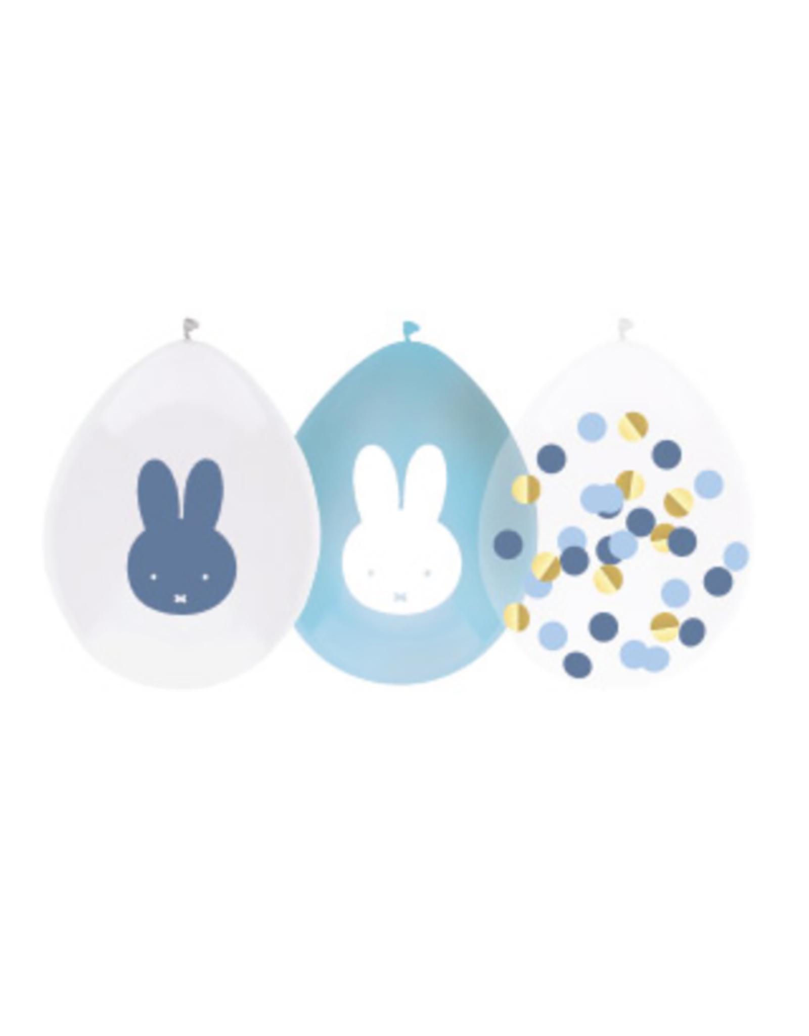 HAZA Ballonnenmix Nijntje blauw | 5 stuks
