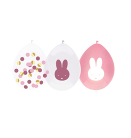 HAZA Ballonnenmix Nijntje roze | 5st