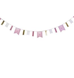 HAZA Nijntje slinger roze | 4 meter