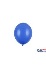 PartyDeco Mini ballonnen blauw (12 cm)   10 stuks