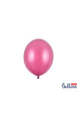 PartyDeco Mini ballonnen roze (12 cm) | 10 stuks
