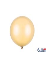 Ballonnen metallic peach (30 cm) | 10st