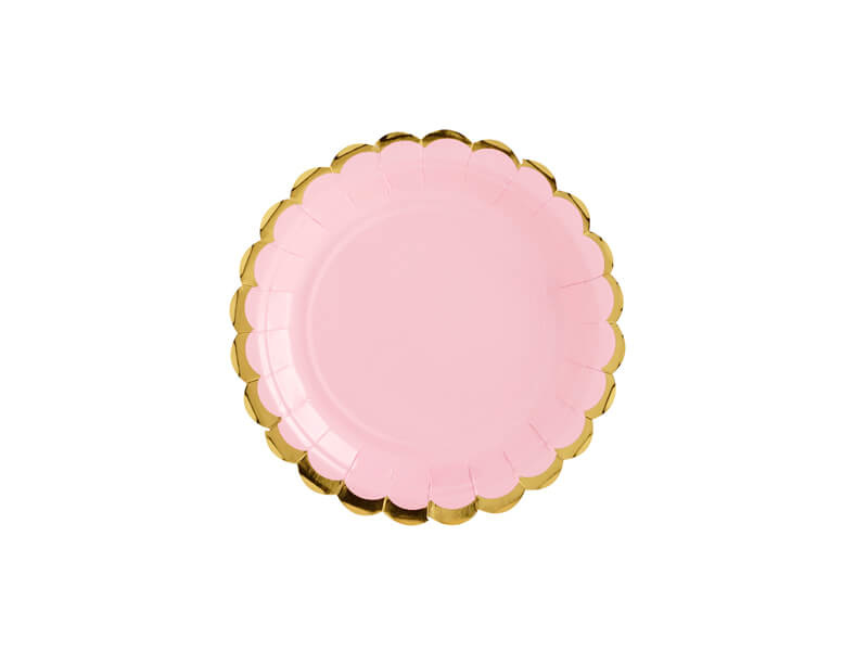 Wegwerpbordje roze