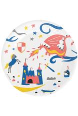 My Little Day Papieren bordjes ridders & draken | 8 stuks