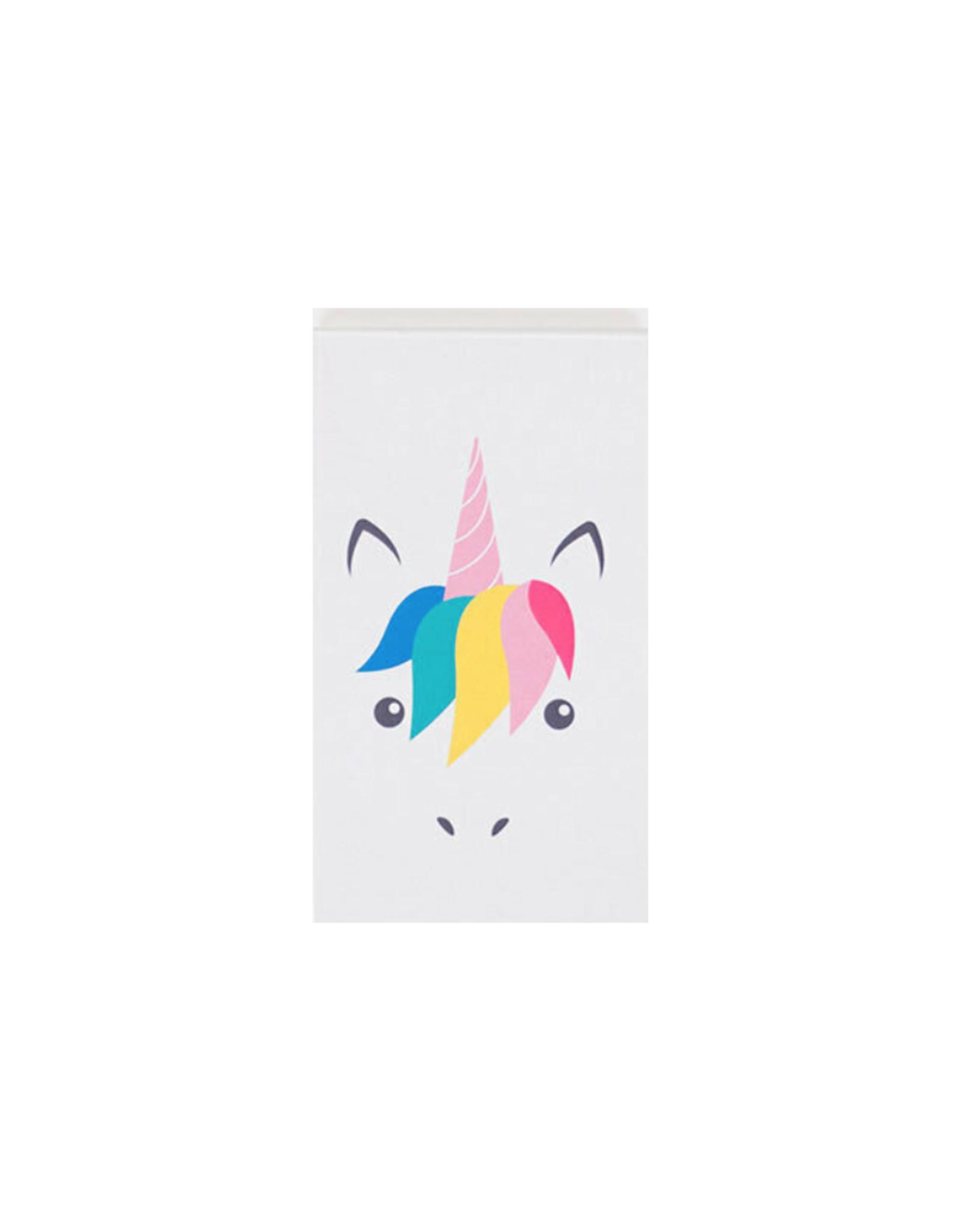 My Little Day Klein notitieblokje unicorn print
