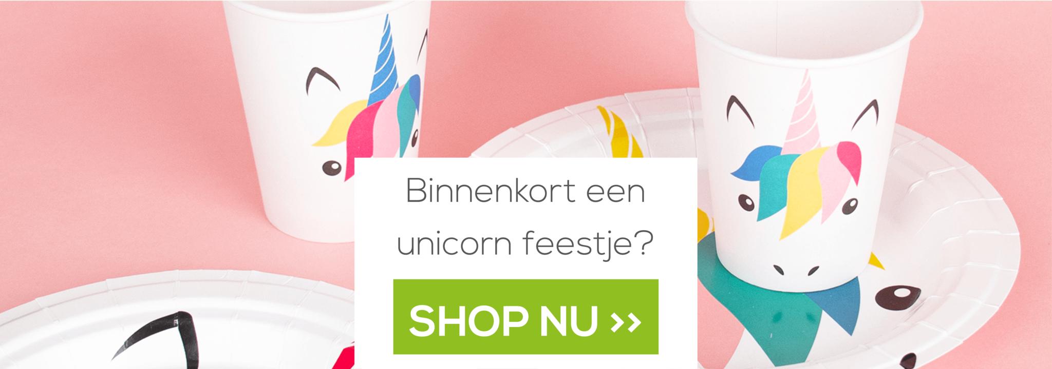 Unicorn versiering online kopen
