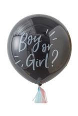 Ginger Ray Gender reveal ballon pakket | 90 cm