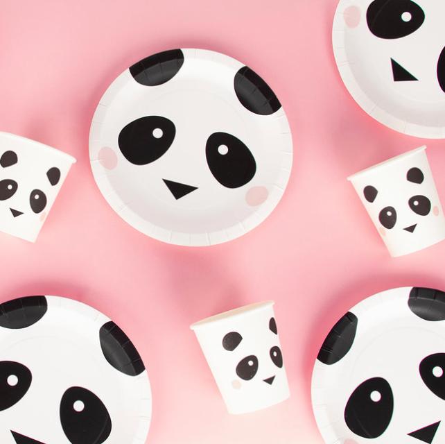 Panda kinderfeestje