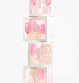 Ballonnen box BABY & LOVE | 4st