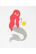 My Little Day Uitnodiging zeemeermin thema   8 stuks
