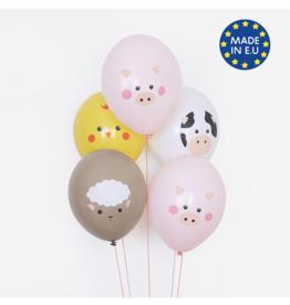 My Little Day Ballonnen boerderij dieren | 5st