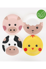 My Little Day Bordjes boerderij dieren | 8 stuks