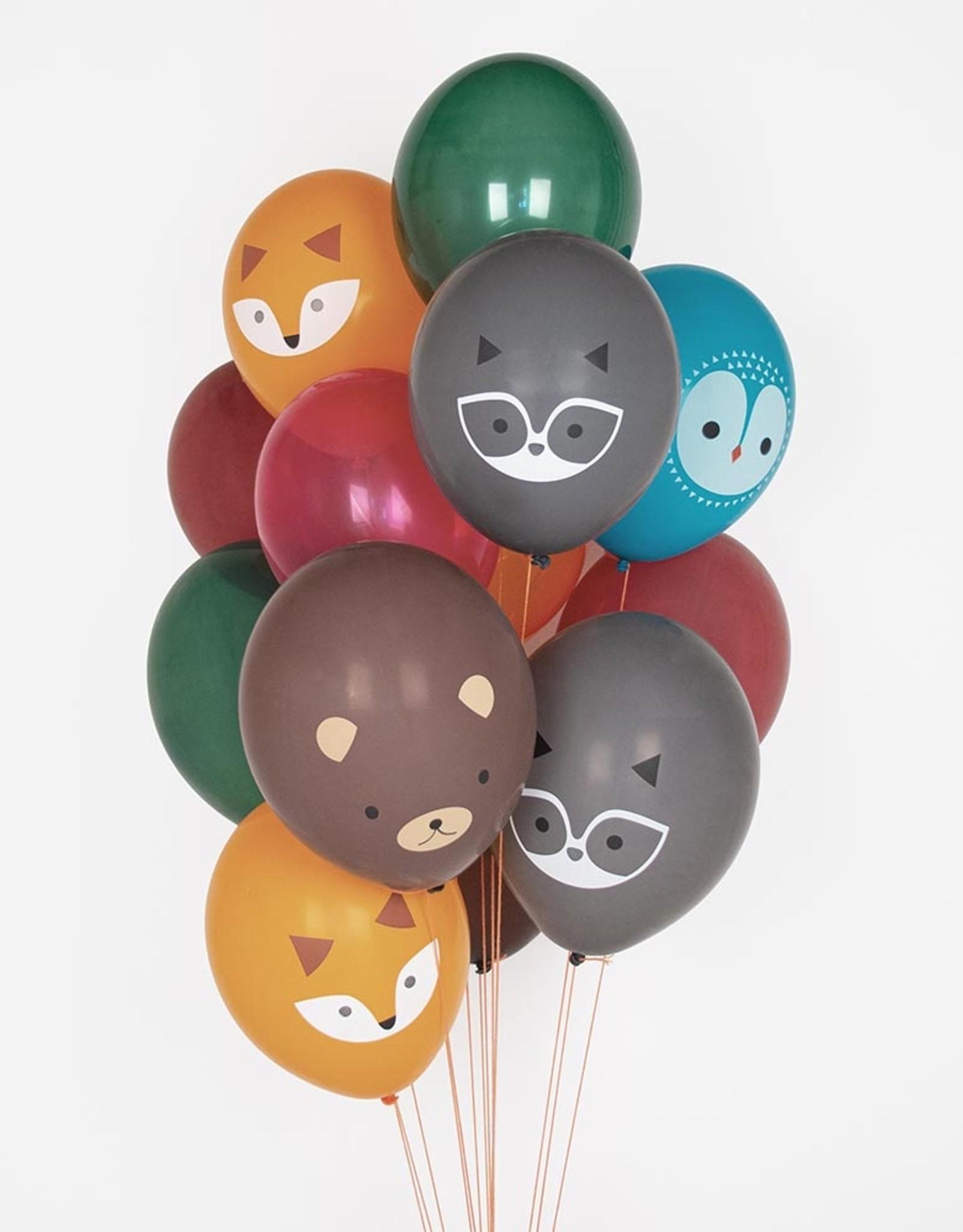 My Little Day Ballonnen bosdieren   5 stuks