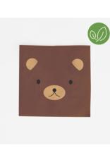 My Little Day Servetten beren print | 20 stuks