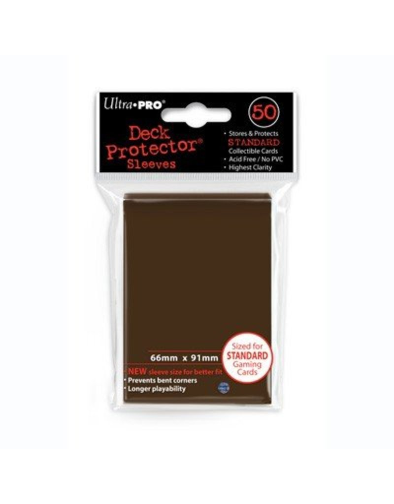 Ultra Pro Ultra Pro Standard Sleeves Brown