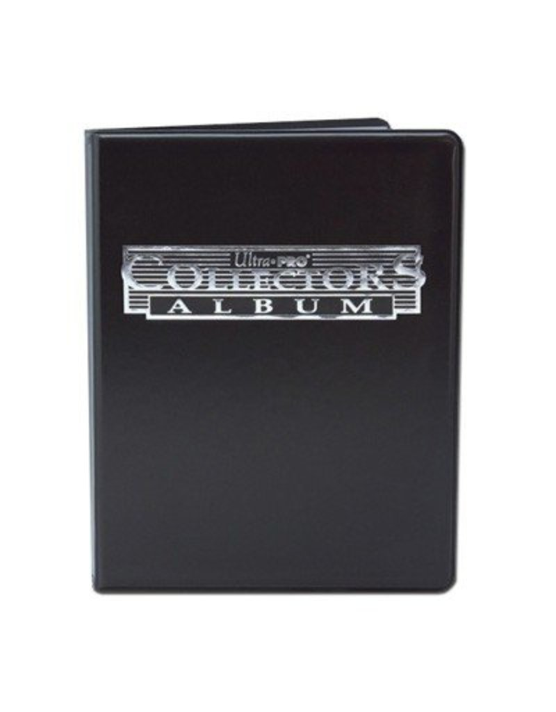 Ultra Pro 4-Pocket Portfolio Collectors Black Ultra-Pro