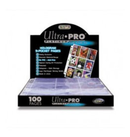 Ultra Pro Hologram Pages Platinum 9-Pocket Ultra Pro