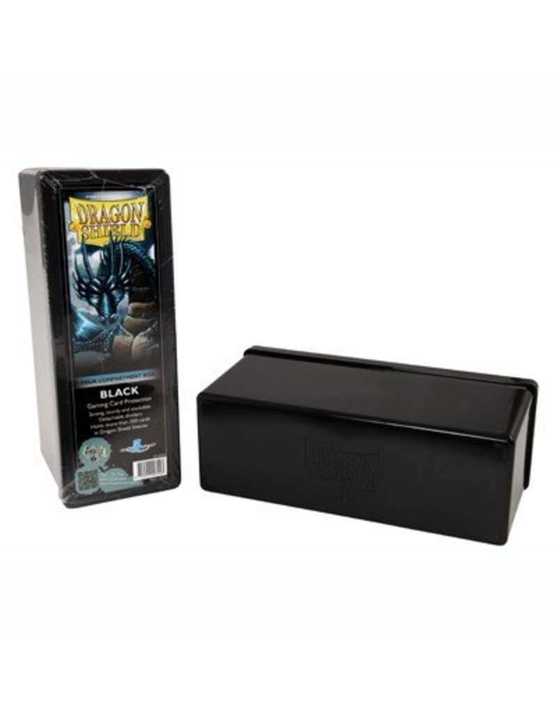 Dragon Shield Dragon Shield 4 Compartment Storage Box - Black