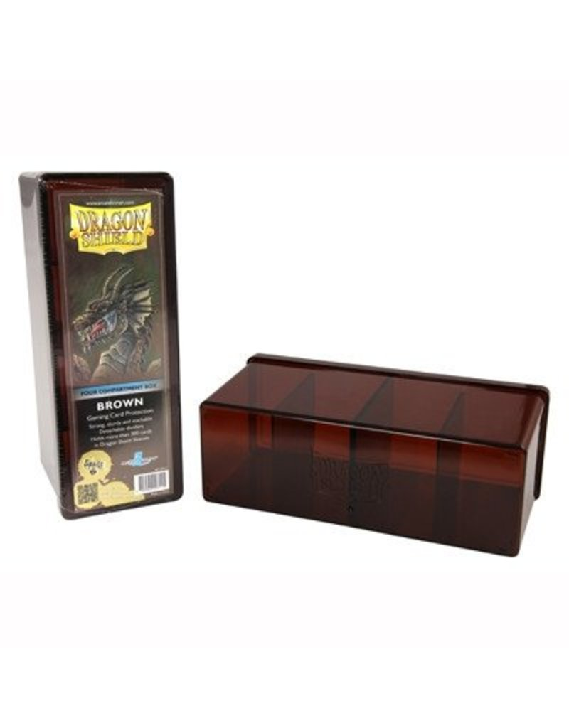 Dragon Shield Dragon Shield 4 Compartment Storage Box - Brown