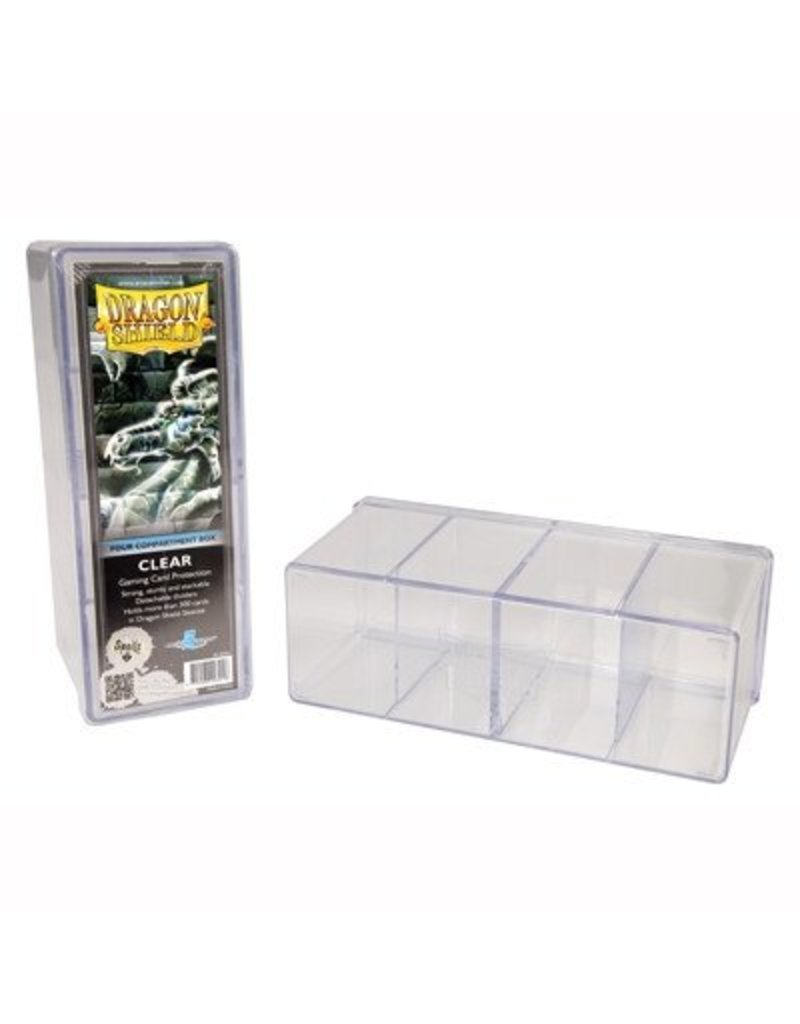 Dragon Shield Dragon Shield 4 Compartment Storage Box - Clear