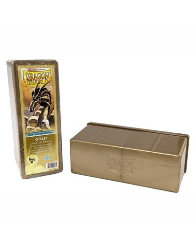 Dragon Shield Dragon Shield 4 Compartment Storage Box - Gold