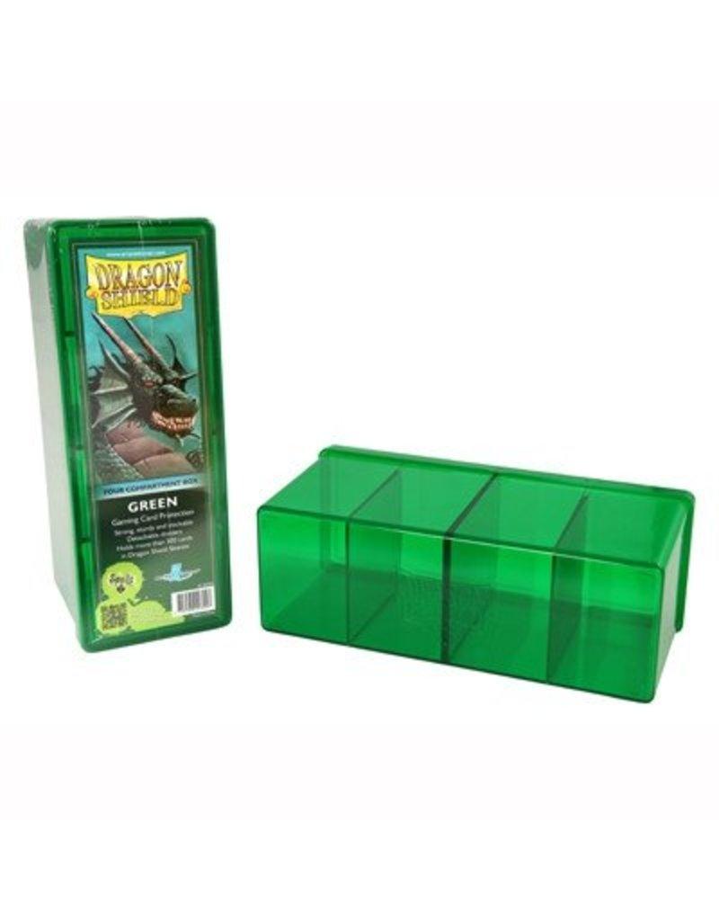 Dragon Shield Dragon Shield 4 Compartment Storage Box - Green