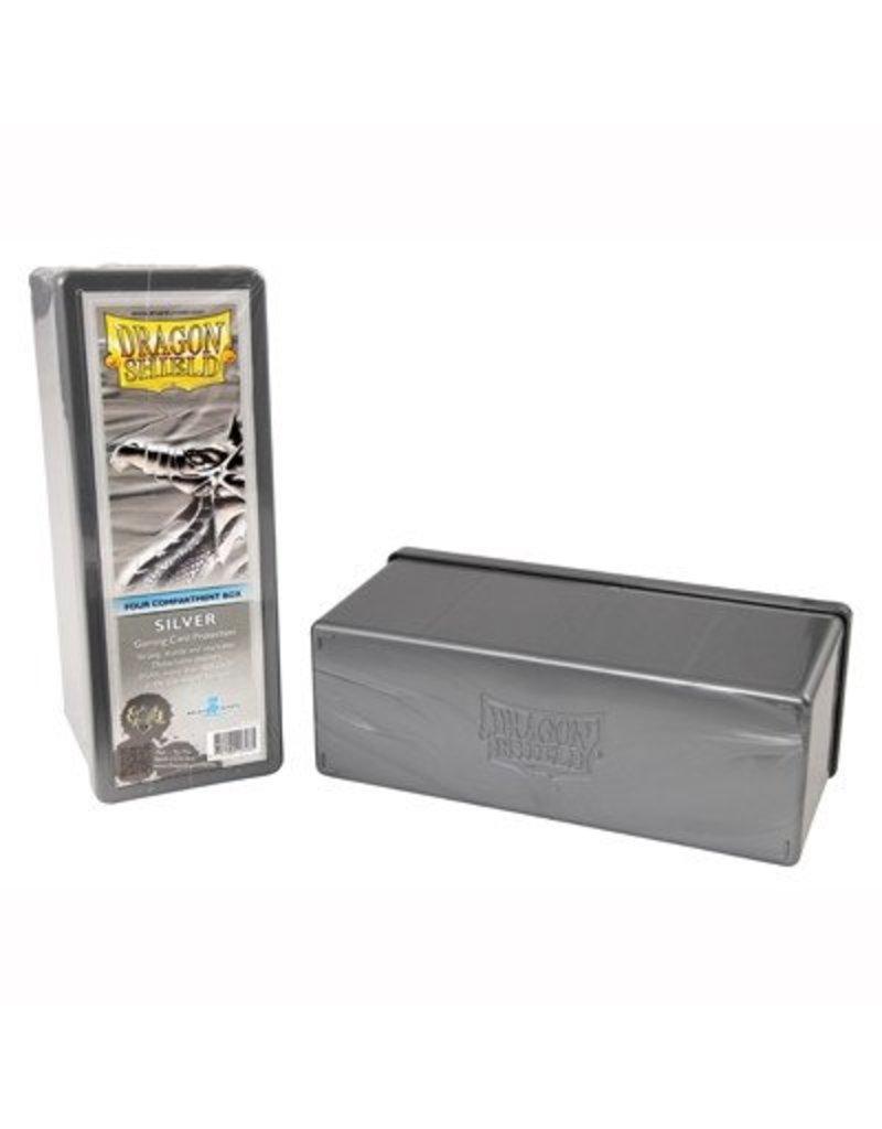 Dragon Shield Dragon Shield 4 Compartment Storage Box - Silver