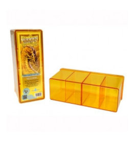 Dragon Shield Dragon Shield 4 Compartment Storage Box - Yellow