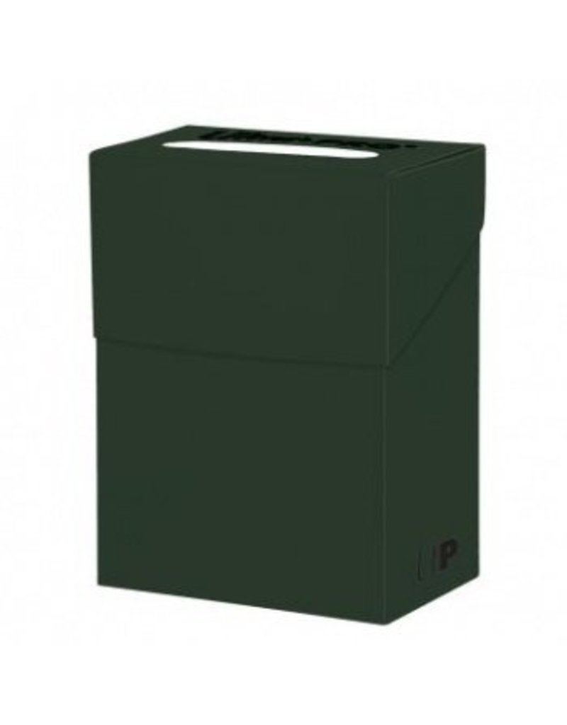 Ultra Pro Deck Box Solid Forest Green Ultra Pro