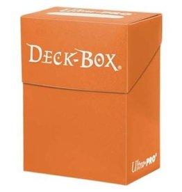 Ultra Pro Deck Box Solid Orange Ultra Pro