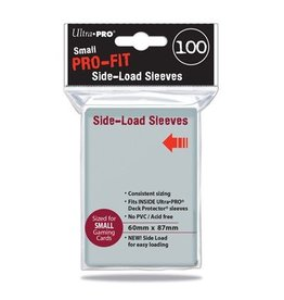 Ultra Pro Ultra Pro Small Pro-Fit Sleeves Side Loading 100 Sleeves