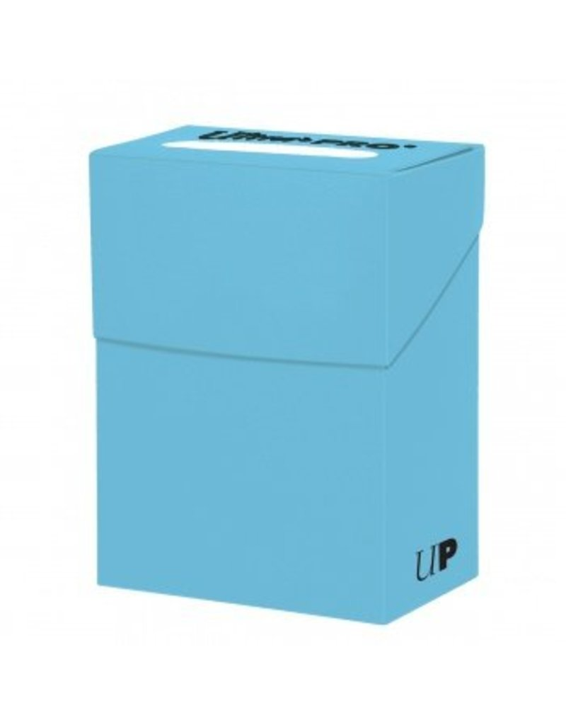Ultra Pro Deck Box Solid Light Blue Ultra Pro