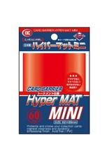 KMC KMC Sleeves Small Hyper Mat Red